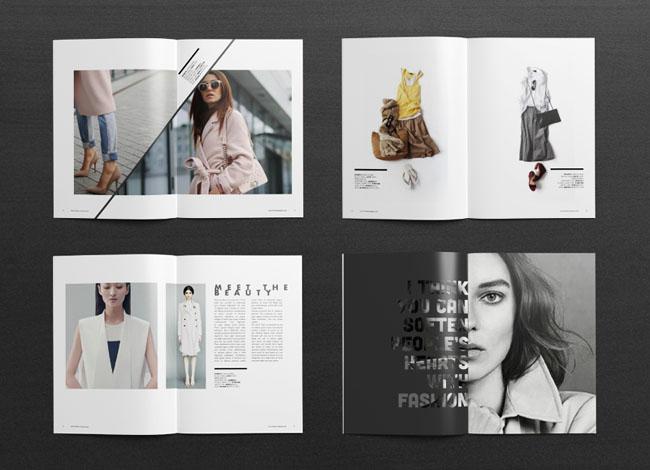 服装画册设计 时尚画册欣赏 武汉画册设计 筑城图文